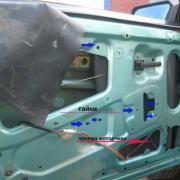 Замена электростеклоподъемника ВАЗ (передний привод)