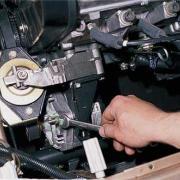 Как правильно снять и поставить генератор ВАЗ - 2110,12